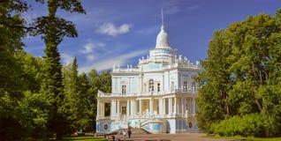 Hügelpavillon auf englisch schieben die Gasse Lizenzfreies Stockfoto