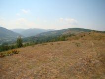 Hügelwüstenfarbe Stockfotos