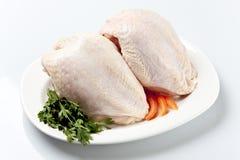 Hühnchen-Brust-außen Rückseite Lizenzfreie Stockfotografie