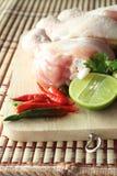 Hühner und Gemüse Lizenzfreies Stockfoto