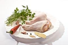 Hühnerbeine Lizenzfreie Stockfotografie