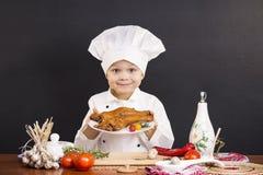 Hühnerbeine geraucht Lizenzfreie Stockbilder