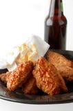 Hühnerflügel Lizenzfreie Stockbilder