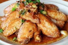Hühnerflügel Lizenzfreies Stockfoto