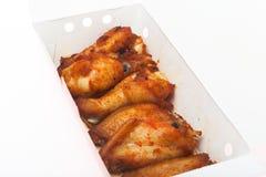 Hühnerflügel-Grillisolat Lizenzfreies Stockbild