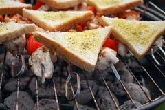 Hühnerfleisch, BBQ Lizenzfreie Stockfotografie