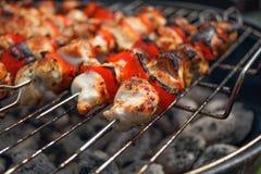 Hühnerfleisch, BBQ Stockbild