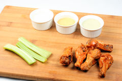 Hühnerhühnerflügel Lizenzfreies Stockfoto