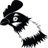 Hühnerkopf Lizenzfreie Stockbilder