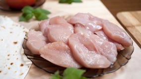 Hühnerleiste Stockbild