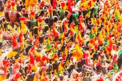 Hühnermengen Stockfotos