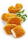 Hühnernuggets stockbild