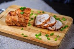 Hühnerrolle Stockfoto