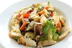 Hühnersahnesalat Stockfotos