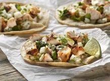 Hühnerstraßen-Taco Stockfoto