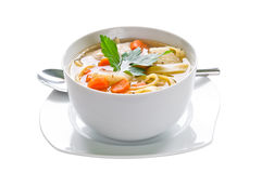 Hühnersuppe Stockfotos
