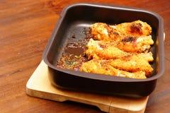 Hühnertrommelstöcke Stockbild