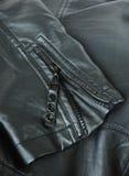 Hülse einer Lederjacke Stockbilder