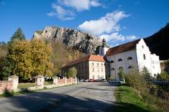 Hülse Skalou, Mittel-Böhmen, Tschechische Republik Svaty Jan. stockbild