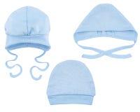 Hüte für Babys Stockbild