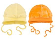 Hüte für Babys Lizenzfreie Stockbilder