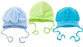 Hüte für Babys Lizenzfreie Stockfotos