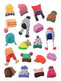 Hüte für junge Mädchen Stockbild