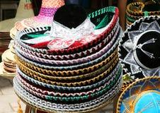 Hüte für Verkauf stockfoto