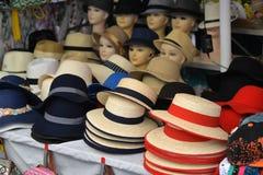 Hüte und Kopfbedeckung lizenzfreies stockbild