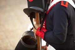 Hüte und Musketen lizenzfreies stockbild