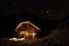 Hütte Stockfotos