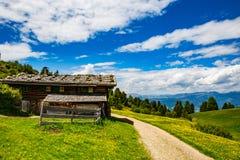 Hütte Stockbild
