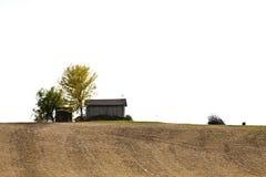 Hütte auf dem Hügel Lizenzfreie Stockfotografie