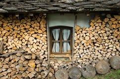 Hütte in der Wildnis Lizenzfreies Stockbild