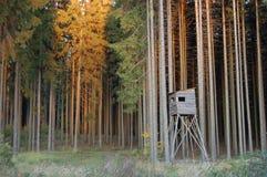 Hütte des Jägers Stockfotografie