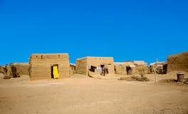 Hütte gemacht vom Lehm in Omdourman Stockfoto