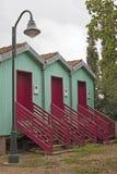 Hütten der Fischer Avieiros Lizenzfreie Stockfotografie