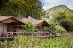 Hütten im ländlichen von Thailand Lizenzfreies Stockbild