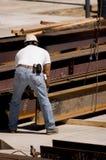 Hüttenarbeiter lizenzfreie stockfotos