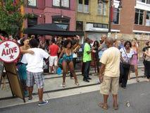 H街道在9月 库存图片