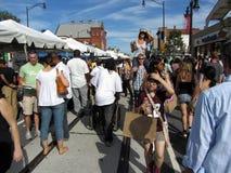 H街道节日在9月 免版税库存照片