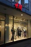 H & van M de opslag van de Manier Stock Afbeeldingen
