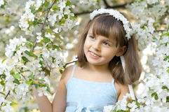härlig flicka little Royaltyfri Fotografi