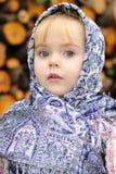 härlig liten flickastående Royaltyfri Foto