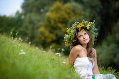 härligt flickabarn Royaltyfri Foto