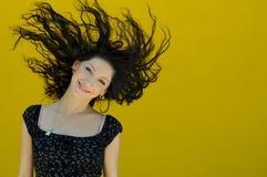 härligt le för flicka Royaltyfri Foto