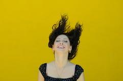 härligt le för flicka Fotografering för Bildbyråer