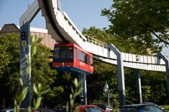 The H-Bahn  in Dortmund Royalty Free Stock Photography