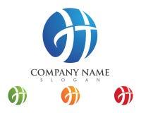 H Brief Logo Business Stock Foto