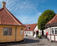 H C Andersen hus Fotografering för Bildbyråer